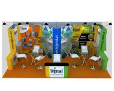 Shell Scheme Portable Exhibition Stand Gallery