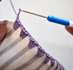 Cómo atar un hilo de tela (4)