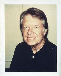 Andy Warhol Polaroids- Jimmy Carter
