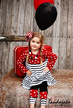 Yes, I too thought about using ruffle fabric for a modern Minnie Mouse look.