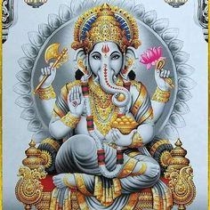 I salute that Lord #Ganesha,   who has a big paunch, a broken tusk . Who is served by Lord brahma  & eminent sages.