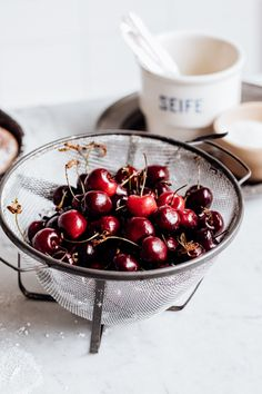 Cherry And Elderberry Clafoutis - Christiann Koepke Pan Sizes, Whipped Topping, Summer Desserts, Baking Pans, Creative Director, Cooking Time, Food Styling, Food Inspiration, Food Photography