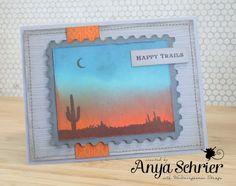 Anya - Life is What You Make It - Western #card