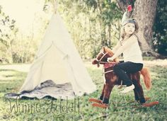 Cowboys and Indians photoshoot