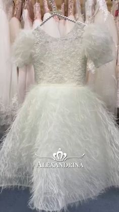 Lace Homecoming Dresses, Evening Dresses, Dresses Kids Girl, Flower Girl Dresses, Bridal Gowns, Wedding Gowns, Baptism Dress, Baby Style, Dress Party