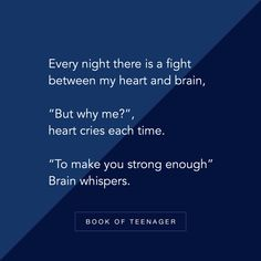 """""""Have you ever had a fight between heart and mind? Via Unknown Author 👊🏻 . Reality Quotes, Mood Quotes, Attitude Quotes, True Quotes, Positive Quotes, Deep Thought Quotes, Teenager Quotes, Girl Quotes, Inspirational Quotes"""