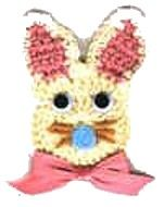 Bunny Magnet DIY Craft Project - free crochet pattern
