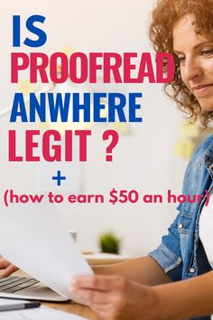 Is Proofread Anywhere legit? We reveal all about this industry leading proofreading course and it's millionaire creator. Earn Extra Money Online, Earn More Money, Ways To Earn Money, Money Tips, Way To Make Money, Money Hacks, Money Fast, Best Business To Start, Best Online Business Ideas