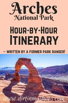 See the best sights, make the most of your time, and avoid the crowds with this Arches Itinerary -- written by a former park ranger! Things To Do, How To Memorize Things, Hiking With Kids, Amazing Destinations, Bucket Lists, Arches, Cool Places To Visit, Travel Guides, The Good Place