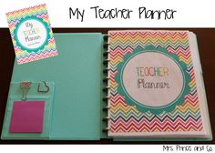 I need to print this for next year! Perfect! mrs. prince co.: My Teacher Planner