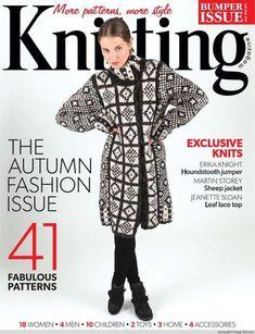 Parte #jacquard Knitting 10 2013 - Albahaca - Blog de albahaca