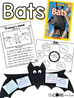 Your students will love these lesson plans. #batslessonplans