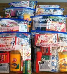 Homeless Bags, Homeless Care Package, Community Service Projects, Blessing Bags, Kindness Matters, Good Deeds, Helping The Homeless, Girl Scouts, Gift Bags