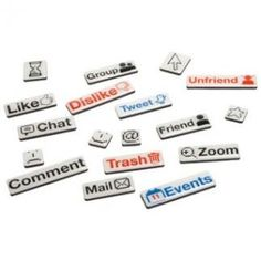 Is your fridge looking a little dull? Then give it some character with these Social Talk Fridge Magnets!    $14.90