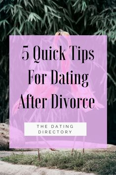 Dating after marriage break up
