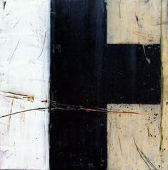 Original Encaustic Painting on Wood by Ionesco Art