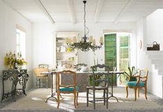 MEDITERRAN - Tisch von Patio Antiques