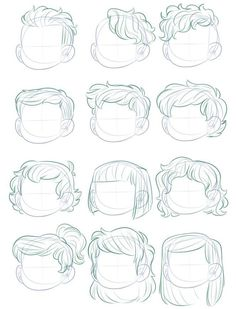 hair sketching - hair sketch - hair sketch tutorial - hair sketch easy - hair sketches girl - hair sketch tutorial step by step - hair sketch male - hair sketch anime - hair sketching Drawing Reference Poses, Hair Reference, Drawing Poses, Design Reference, Drawing Tips, Drawing Sketches, Chibi Drawing, Chibi Sketch, Hair Styles Drawing