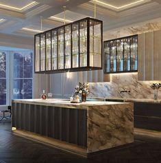 Luxury Kitchen Design, Contemporary Kitchen Design, Interior Design Kitchen, Bespoke Kitchens, Luxury Kitchens, Smallbone Kitchens, Home Decor Kitchen, Decoration, Luxury Homes