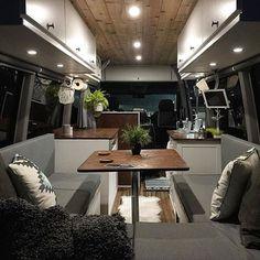 Stunning van interior