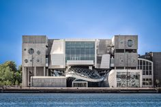 Coop Himmelb(l)au / Musikkens Hus (House of Music) Aalborg, Denmark, Aalborg, Contemporary Architecture, Marina Bay Sands, Denmark, Mansions, House Styles, Building, Music, Travel