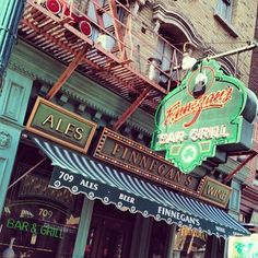 Finnegan's is a great place to catch a bite to eat and get out of the heat!