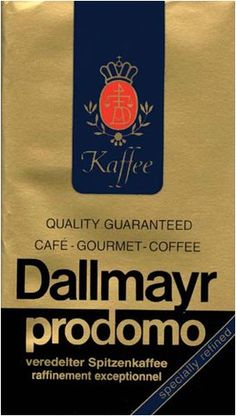 Dallmayr Gourmet Coffee, Prodomo (Ground), 8.8-Ounce Vacuum Packs (Pack of 4) ** This is an Amazon Associate's Pin. You can find out more details at this Amazon Affiliate link.