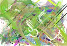 Este dibujo lo he realizado con una aplicación llamada Bomomo, es muy divertida porque utilizas unas bolitas que se encuentran en la pantalla y al mover el ratón por la pantalla siguen el cursor del raton y si ademas pulsas el botón izquierdo va pintando. Dispone de varios botones para configurar el movimiento de las bolas.El único inconveniente que le veo a la aplicación es que para poder guardar el dibujo tienes que hacer una captura de pantalla.
