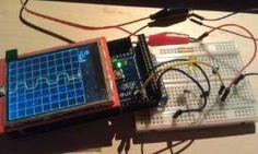 A simple DIY Oscilloscope with Arduino Uno and Mega