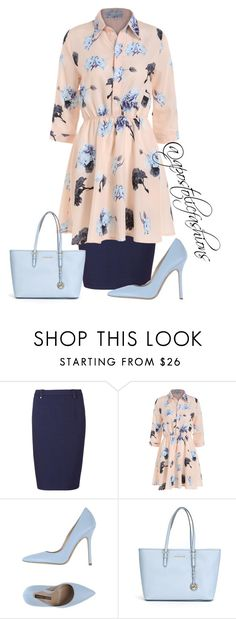 """Apostolic Fashions #917"" by apostolicfashions ❤ liked on Polyvore featuring Sugarhill Boutique, Norma J.Baker and MICHAEL Michael Kors"