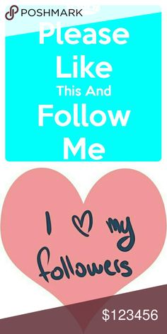 Follow me and share 5 i will return favor Please follow me and everytime you share five itens from my closet i will do the sane for yours.  Thank you so very much for following me and helping me share my closet???? Bags Clutches & Wristlets