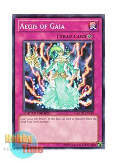 Aegis Of Gaia Yugioh Card Genuine Yu-Gi-Oh Card