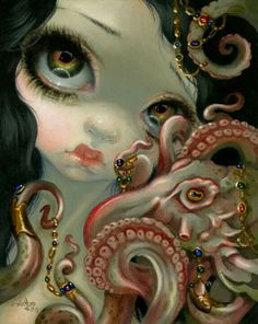JEWELED OCTOPUS by Jasmine Becket-Griffith