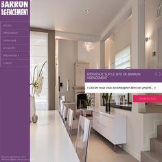 Nouveau site de Barron Agencement http://www.barron-agencement.fr