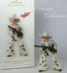 2007 Hallmark Ralphie Parker Saves The Day A Christmas Story Ornament Keepsake