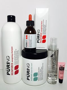 Mx Puring Reinforce Energizing Shampoo 33.8 Oz, Everyday Revitalizing Cream 33.8 Oz, Reinforce Energizing Lotion 4.22 Oz Mysalon Liberty Crystal Serum 3.38 Oz Free Starry Lip Plumping 10 Ml ** This is an Amazon Affiliate link. Check out the image by visiting the link.