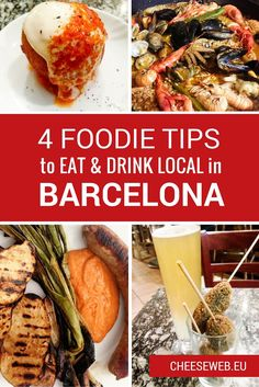 Guest contributor Chris shares her 4 favourite foodie secrets for Barcelona, Spain so you can eat like a local on your next visit to Catalonia.