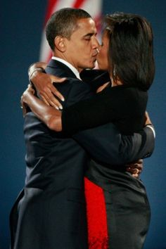 Love always wins, President Barack and Michelle Obama