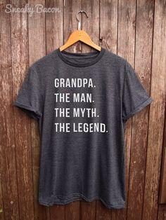 Grandpa Shirt  gifts for grandpa funny grandpa by SneakyBaconTees