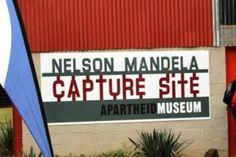 Finish of Mandela Marathon is at the Nelson Mandela Capture Site