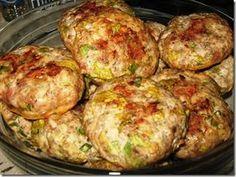 Chiftelute de pui la cuptor -Dukan Romanian Food, Romanian Recipes, Good Food, Yummy Food, Cooking Recipes, Healthy Recipes, Mince Meat, Eating Plans, Casserole Recipes