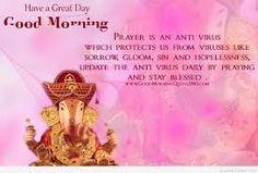 Image result for god ganesh good morning images