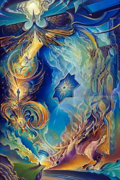 """The Myth of Freedom - 48"""" x 32"""", Acrylic/Canvas, 2013 - Michael Divine TenThousandVisions"""