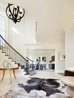 Daily Features — Dering Hall - Tour a Modern North Carolina Renovation with a Stunning Contemporary Art Collection Designed by S. Russell Groves