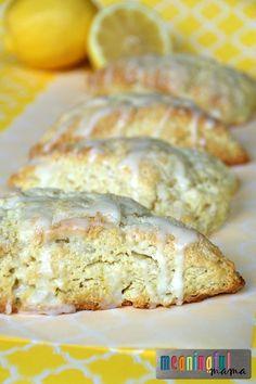 Delicious Lemon Scones Recipe - Great Easter or Shower Brunch or Breakfast Idea - #ad #HorizonRecipes @horizonorganic