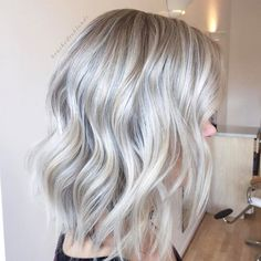 "911 Likes, 11 Comments - Danielle Hess (@brushedtoblonde) on Instagram: ""Ash blonde with dimension and a soft shadowed root . . . Full head foil with flashlift and…"""