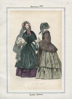 Ladies' Cabinet January 1844 LAPL