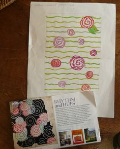 love this ruched rose quilt. get the free pattern here.
