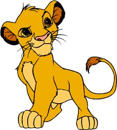 Want a simba tattoo for my son-- his zodiac sign is Leo, Lion King was my favorite movie, and I love every Disney movie ever made. Simba Et Nala, Lion King Simba, Simba Disney, Disney Art, Cute Disney Wallpaper, Cute Cartoon Wallpapers, Winnie The Pooh Tattoos, Animated Smiley Faces, Lion King Pictures