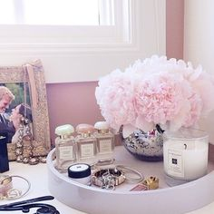 @Rachael Brudenell Parcell / Pink Peonies ♥